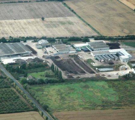 envar aerial view composting